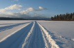 Winter on Seeley Lake :: Montana Photographer