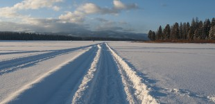 Winter on Seeley Lake :: Montana Photographer