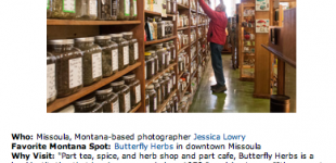 Published :: Country Living :: Butterfly Herbs in Missoula, Montana