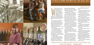Published :: Distilling and Brewing for Montana Magazine :: Montana Editorial Photographer