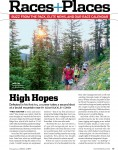 Published :: Bridger Ridge Run for Runner's World :: Montana Editorial Photographer